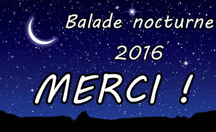 Balade nocturne 2016 : merci !